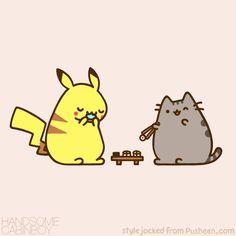 Calendar pikachu pusheen