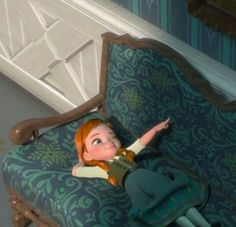 """""""Hang in there Joan"""" :) I love Ana from Frozen Kid Movies, Disney Movies, Disney Characters, Me Trying To Flirt, Baby Disney, Disney Princess, Frozen Photos, Build A Snowman, Anna Frozen"""