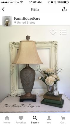 Tall Elegant Table Lamp, French Linen Chalk Paint, Traditional Living Room  End Table Lamp, Rustic Wood Lamp With Shade Part 41