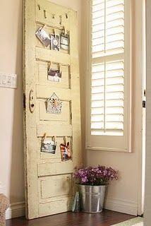 old door display.