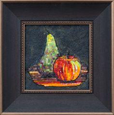 Mosaic. Груша и яблоко