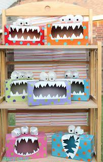 Turn a Kleenex Box into a Monster | Munchkins and Mayhem