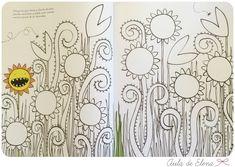 El gran álbum para dibujar, colorear y garabatear en el Aula de Elena 8