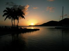 coucher de soleil /sunset à ste-anne