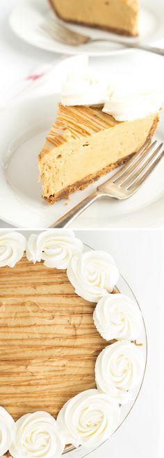 For cookie butter lovers! Cookie crust, creamy cookie butter filling, and a cookie butter and whipped cream garnish. // Creamy Cookie Butter Pie Recipe