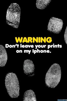 Funny iphone wallpapers background lock screens - fingerprint lock screen