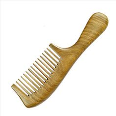 Wide Tine PALO SANTO Handle Comb Anti-static Wooden Comb -- This is an Amazon Affiliate link. You can get more details by clicking on the image. Hair Tools, Hair Comb, Handle, Canning, Amazon, Link, Image, Saints, Palo Santo