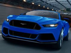 The New Ford Mustang 2015 Revealed Photos