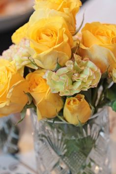 roses# yellow#