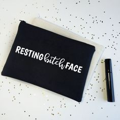 Hey, I found this really awesome Etsy listing at https://www.etsy.com/listing/271927984/best-friend-gift-makeup-bag-funny-gift