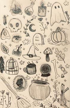 halloween doodles 🍂🧡