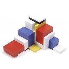 Piet Mondrian Modulon: Awesome De Stijl-Inspired Blocks By Naef Piet Mondrian, Shape And Form, Designer Toys, Wooden Toys, Sculpture Art, Geometry, Cool Designs, Shapes, Colour Contrast
