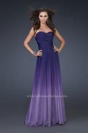 ombre purple bridesmaids dress - purple is IN!