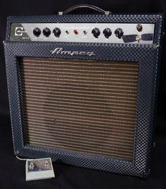 Vintage 1966 Ampeg Reverberocket 2 Tube Amp Combo GS 12 R