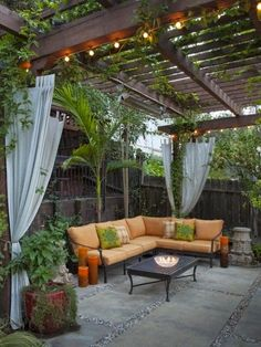 I would love to do this in the back yard or secret garden