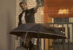 Un parapluie 8 bit et la pluie devient musique