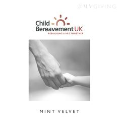 CHILD BEREAVEMENT UK  Child Bereavement UK supports families and educates professionals when a baby or child dies or is dying, or when a child is facing bereavement. Every year they train c.6000 professionals, helping them to better understand the needs of grieving families.  #MVGIVING