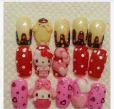 Sanrio character nail <3