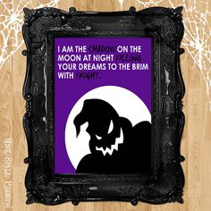 oogie boogie nightmare before christmas quote by inkspillprints 450 christmas door decorations christmas colors