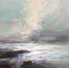 Fresh Day, Beadnell - Richard Barrett Original Paintings - Fenwick Gallery