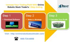 Are you facing loss in #trading??  Just follow these 3 easy steps and convert your #loss into profit with the help of Best Online #Stock Trading #Software.  Get your own at: http://onlineroboticstocktrader.com/