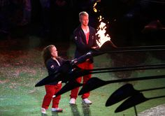 2012 London Paralympics - Closing Ceremony - turning off the flame