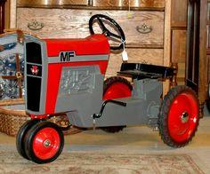 Restored childs MF tractor