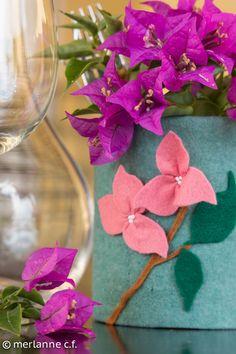 Blumendose Upcycling - upcycling can - boîte de conserve décorée