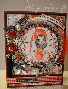 Winter handmade card