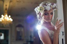 We Are Flowergirls- Flowercrown- Weddingcrown_ Headpiece-Accessoire-Handmade-Hairaccessoire- Headband Headpiece, Crown, Handmade, Jewelry, Fashion, Accessories, Corona, Hand Made, Jewlery