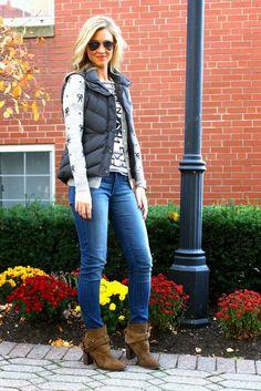 Stunning Ways to Wear a Puffer Vest - Glam Bistro