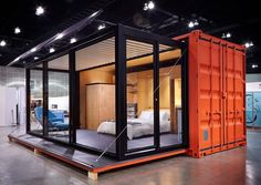 Looking for how to renovate shipping container into house, Shop, Garage or Workshop? Here are extensive shipping Container Houses Ideas for you! shipping container homes Container Homes For Sale, Container Shop, Shipping Container Home Designs, Building A Container Home, Container Cabin, Container Buildings, Container Architecture, Container House Plans, Shipping Containers