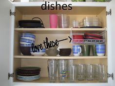 Hanging wire shelf for lids