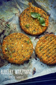 Burgery warzywne - dieta dr D±browskiej
