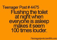 Teenager Post............................... YEP!!!!