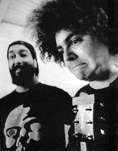 Kim Thayil and Buzz...  Soundgarden and Melvins <3