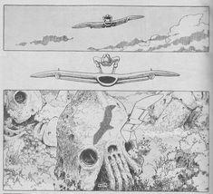 miyazaki nausicaa god warrior manga | 10b. Invested in [Mecha] Manga – Miyazaki Hayao's Nausicaä of the ...