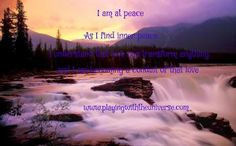 Finding Peace Within Peace comes from remember love in all that you do. Peace comes from the knowing that you safe, protected and supported. When you are peaceful within, you are more powerful. You have confidence in your ideas and inspirations and move forward with ease. You trust your guidance and are tuned into your intuition. You are better able to see the truth and better able to trust and follow your passion. Peace is one of the keys to enlightenment, so don't give up on finding it for…