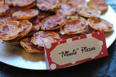 Minnie Pizzas