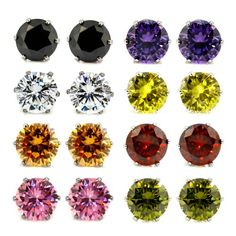 will buy this once i got citi thank you points next month. 8 Pairs Assorted Color Wholesale Lot Stainless Steel Round Cubic Zirconia Stud Earrings, Hypoallergenic, Nickel-free, Lead-free (4. 8mm x 8 Colors) JewelrieShop,http://www.amazon.com/dp/B00HHO4648/ref=cm_sw_r_pi_dp_ucDvtb180W43K4G8