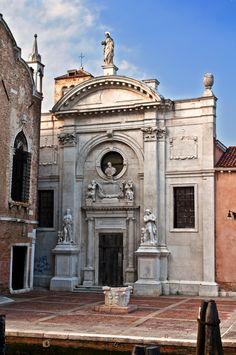 Venezia - Bastianello Marino - Chiesa dell'Abbazia della Misericordia. Venice, Church of the Abbey of Mercy. #Italy