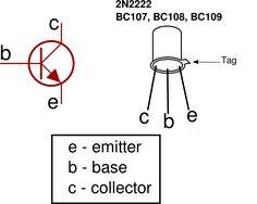 #Transistorsymbol and pinout #Electrical #Electronics