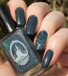 Green, Glaze & Glasses: Blue Saturday (Blue Friday) - Enchanted January 2014 & Catrice Holo is the new Yolo