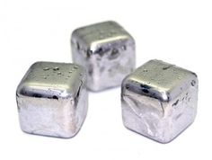 Stainless Steel Ice Cubes ! Will never melt and stay cold longer #bar #drinks