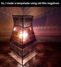 A unique lamp…