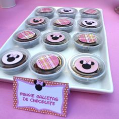 Treats at a Minnie Mouse Party