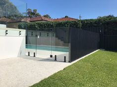 Aluminium and Glass Pool Fencing Combined - Fence Spot