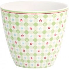 GreenGate Latte Cup - Mimi Green