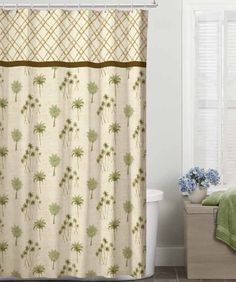 benlok classic durable polyester fabric magnolia thick shower