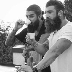 post cro-magnon conundrum - thelastofthewine: *** bloody handsome pair -...
